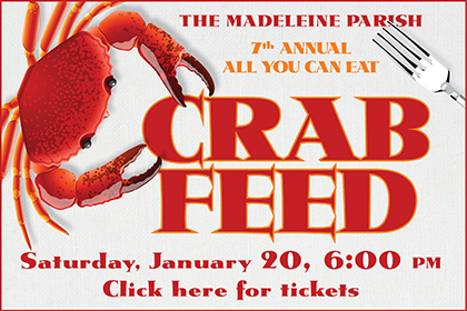 The Madeleine Crab feed