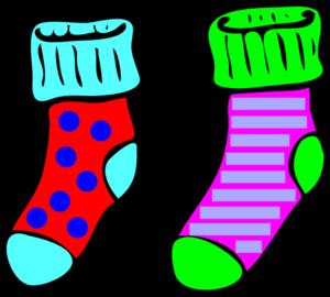 Socks sock clipart free clipart image image